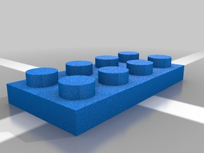 Lego 4x3 Block