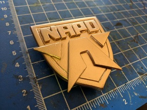 NAPD Badge (Android Universe) v2