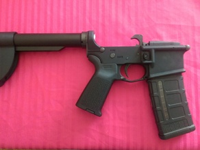 Mini AR-15 stock