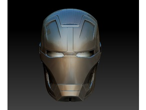 Iron Man MK 42 Helmet