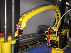 Prusa I3 Hephestos X Cable Mount and Endstop