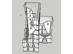 Adeptus Titanicus Building No.4 - Ruin