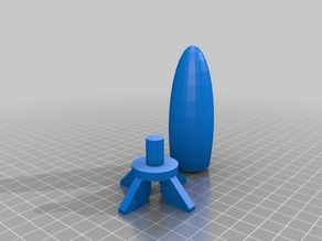 super simple pocket rocket.