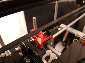 Flsun Cube + Y belt tensioner