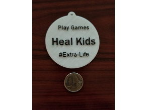 Extra-Life Medal or Medallion