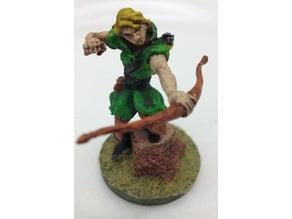 Female Archer Miniature
