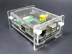 Snap Together Raspberry Pi Enclosure