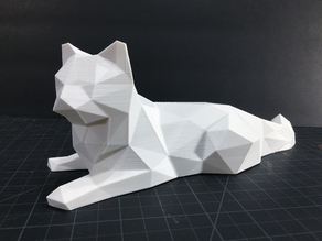 Low Poly Cat!