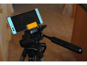 Customizable Phone Tripod Mount
