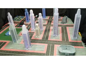 Math-hatten a 3D model city for STEM projects