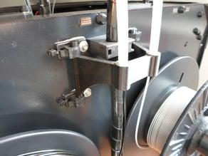 CTC, Flashforge Filamentfuehrung hinten / Filament Tube Holder