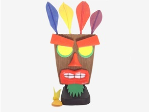 Aku Aku Crash Bandicoot