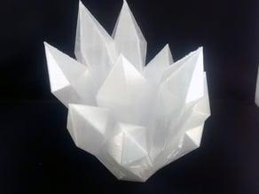 Crystal decoration art