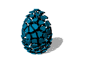 Exploded Easter Egg