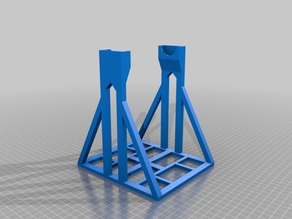 Spool Stand for up to 300 mm diameter and 105 mm wide Spools