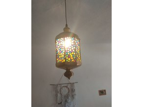 Scheherazade - middle east inspired lamp shade