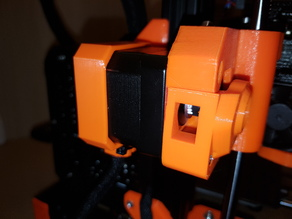 Original Prusa i3 MK3 X-axis motor cable strain relief - flange
