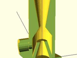 Garden hose venturi pump