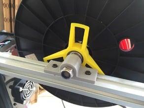 M8 rod mount