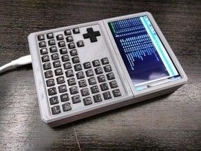 HyperPixel 4 & Raspberry Pi 3 B+ Handheld