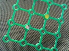 LED Cube 4x4x4 Frames