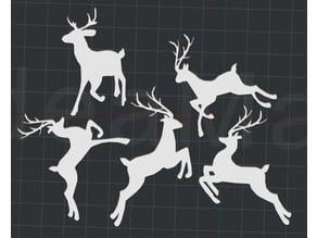 Christmas Reindeer!! 2D Wall Art