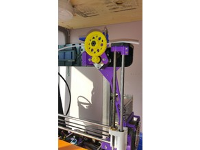 Modular wades extruder - fully enclosed filament