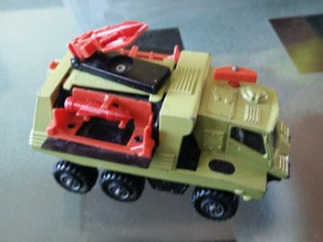 Matchbox K-111 missile launcher replacement missile