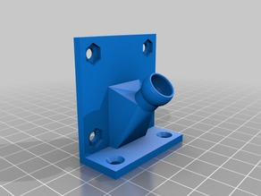 50mm Blower Fan to Modular Hose Mount (use with thing:891740)