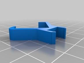 Ikea Dioder Clip optimized for RigidBot