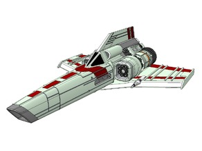 BSG - Colonial Scorpion-Class Fighter