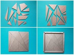 Stomachion - puzzle Archimède loculus