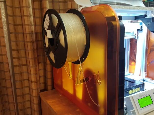3d Printer Filament >> da vinci jr new spool holder by wowjaguar - Thingiverse