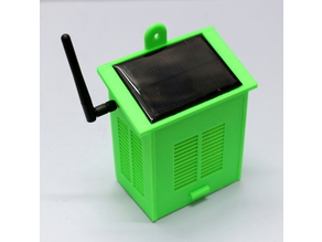 Solar Powered WiFi Weather Station V2.0