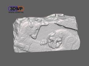 Assyrian Relief 3D Scan