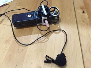 Zoom H1 belt clip