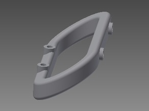 Front/Rear bumper mounts for Traxxas Summit 1:10