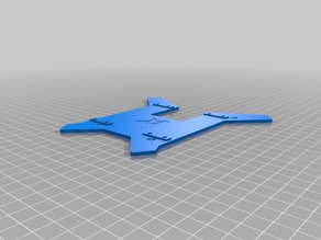 Xaircraft Xcope Top Plate with Rail Mount (Tarot Size)