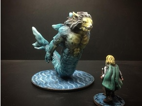 Merlion (28mm/Heroic scale)