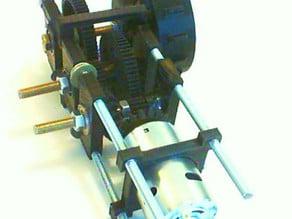 RcTank Double GearBox DCMotor