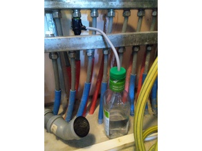 15mm pipe leak water collector