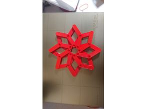 Snap together Hinged Star Fidget Toy