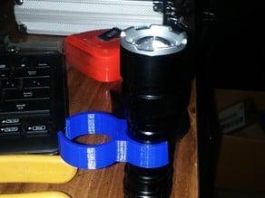 shop vac flash light holder