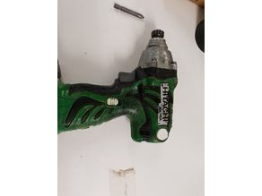 Hitachi Impact Driver brushing holder