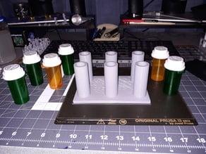 Pill Bottle Paint Stand