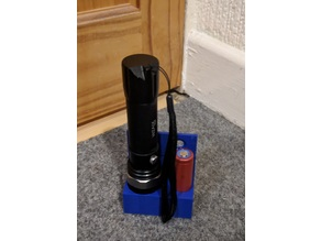 Torch and battery holder