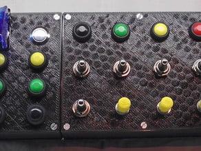 Modular Open Sim Racing Button Box