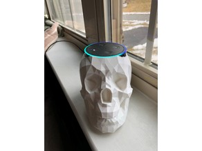 Echo Dot Skull Holder with sound escape