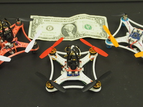 Brushless 95mm Martian Micro FPV Quad Copter