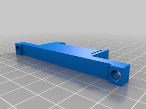 16 relay PCB DIN rail mounting clip